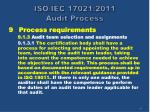 iso iec 17021 2011 audit process18