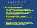 iso iec 17021 2011 audit process2