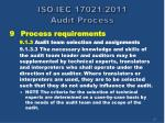 iso iec 17021 2011 audit process20