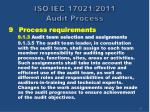 iso iec 17021 2011 audit process22