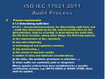 iso iec 17021 2011 audit process23