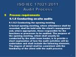 iso iec 17021 2011 audit process30