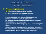 iso iec 17021 2011 audit process34