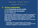 iso iec 17021 2011 audit process37