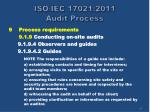 iso iec 17021 2011 audit process39