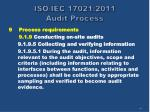 iso iec 17021 2011 audit process40