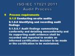 iso iec 17021 2011 audit process42