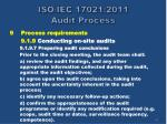 iso iec 17021 2011 audit process47