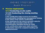 iso iec 17021 2011 audit process50