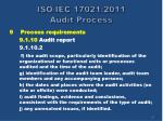 iso iec 17021 2011 audit process55