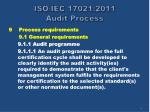 iso iec 17021 2011 audit process8