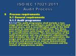 iso iec 17021 2011 audit process9