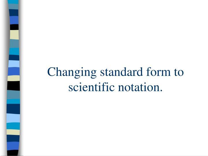 Ppt Scientific Notation Powerpoint Presentation Id458826