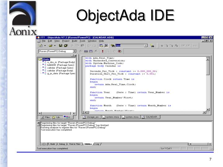 ObjectAda IDE