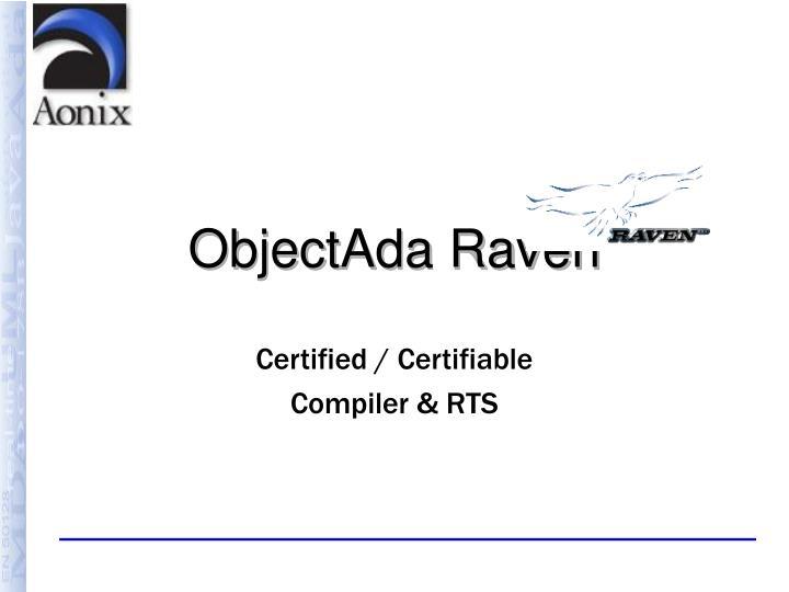 ObjectAda Raven