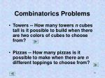 combinatorics problems