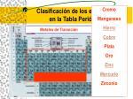 clasificaci n de los elementos en la tabla peri dica19