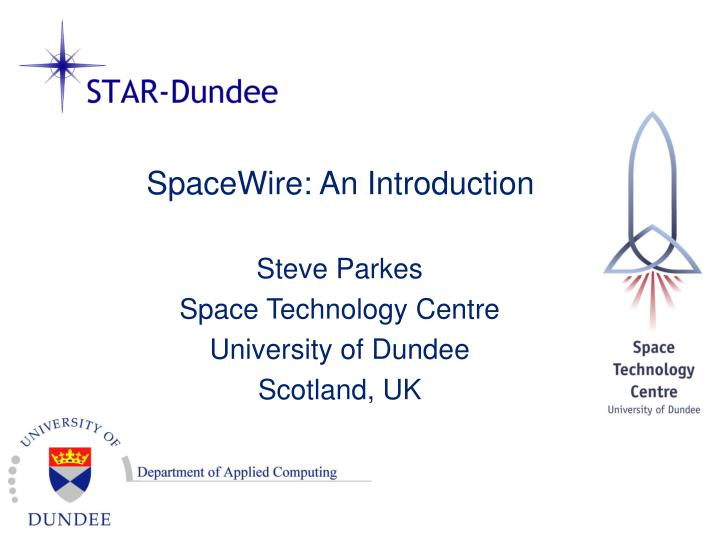 spacewire an introduction n.