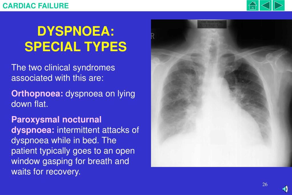DYSPNOEA:  SPECIAL TYPES