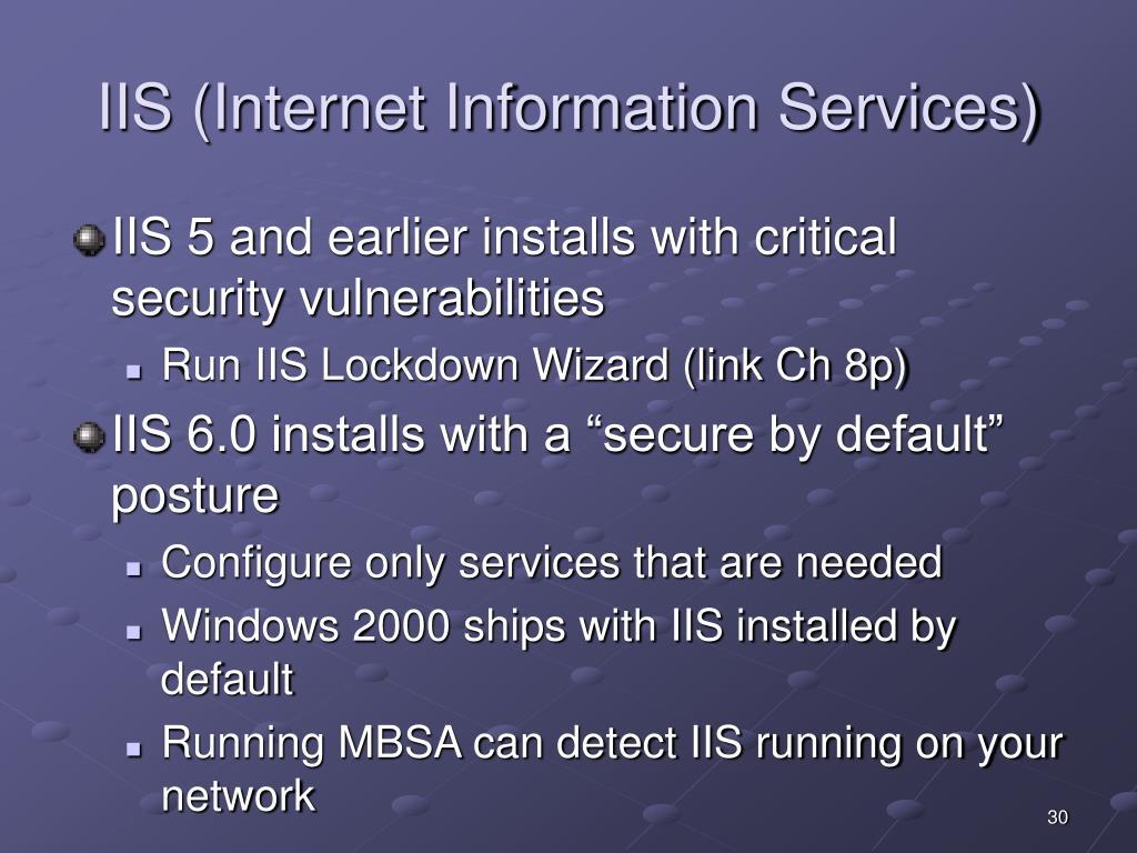 IIS (Internet Information Services)