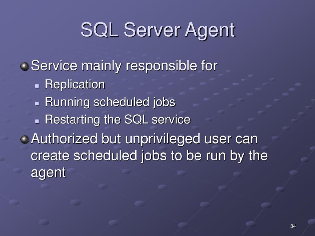 SQL Server Agent