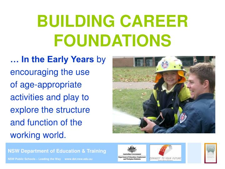 Ppt careers education in primary school presentation for building career foundations malvernweather Gallery