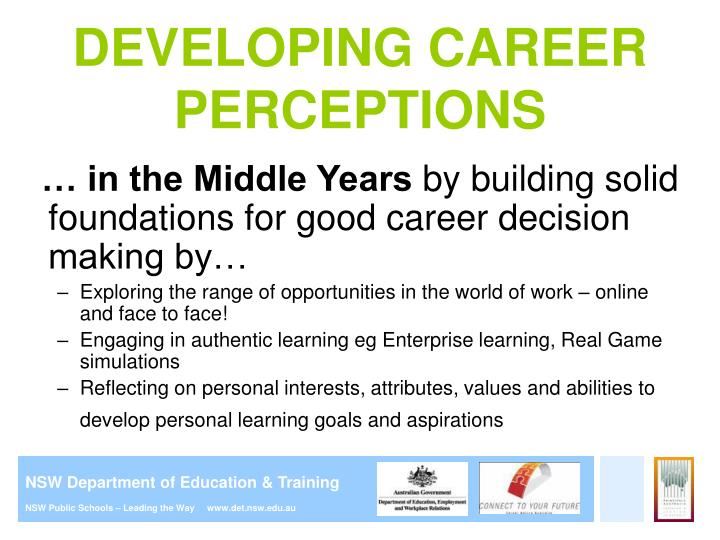 Ppt careers education in primary school presentation for parents developing career perceptions malvernweather Choice Image