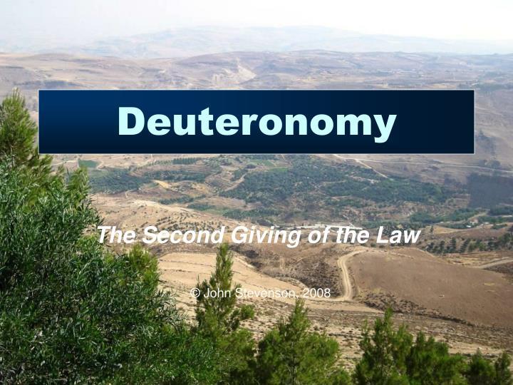 deuteronomy n.