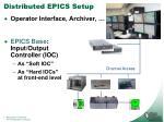 distributed epics setup