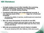 ioc database1