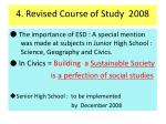 4 revised course of study 2008