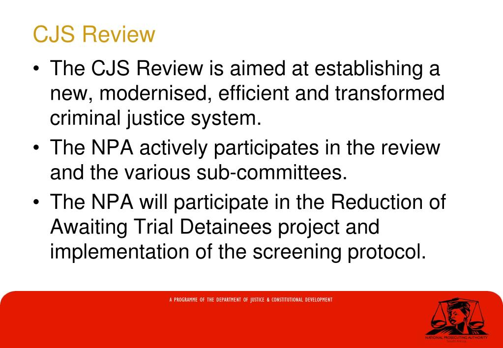 CJS Review