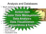 analysis and databases18