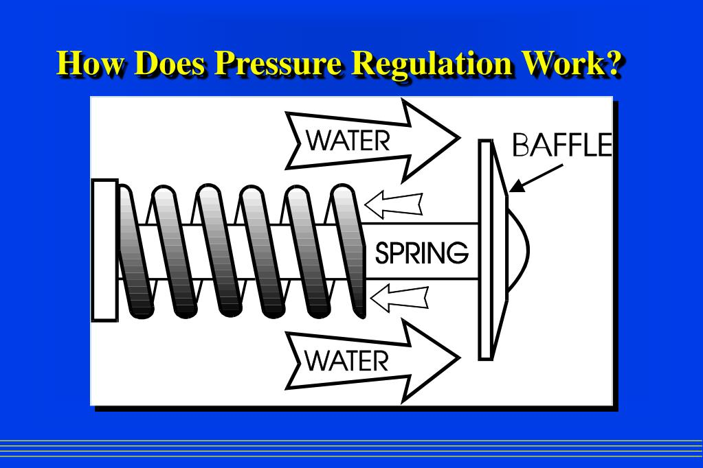 How Does Pressure Regulation Work?