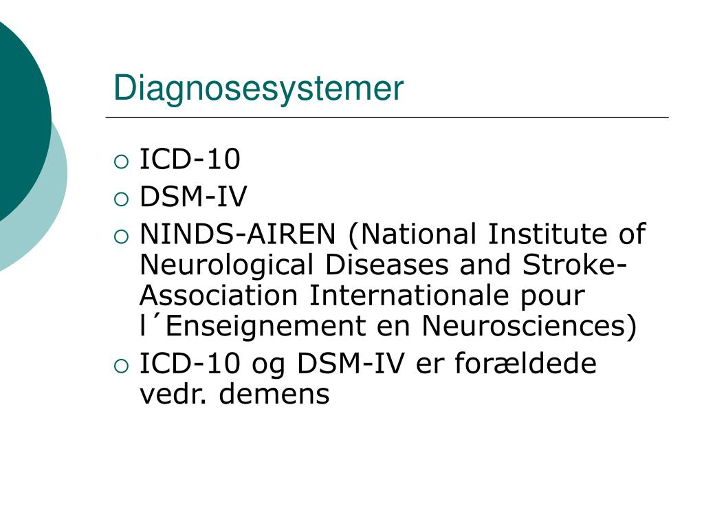 Diagnosesystemer