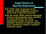 legal issues in special education3