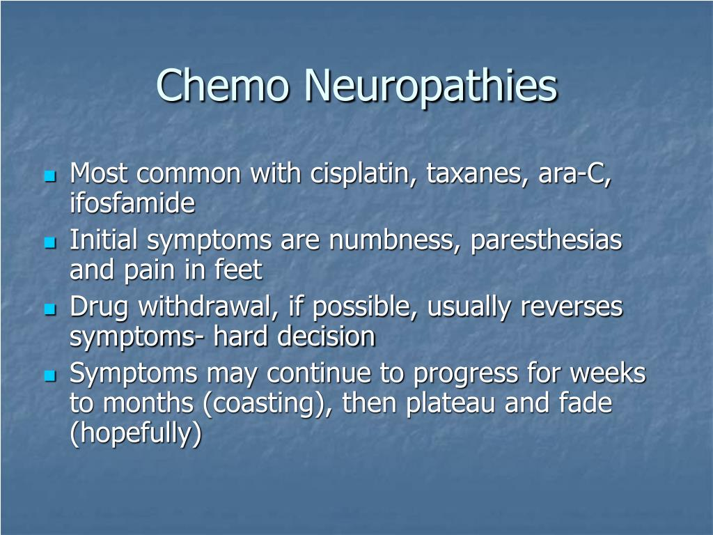 Chemo Neuropathies