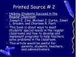 printed source 2