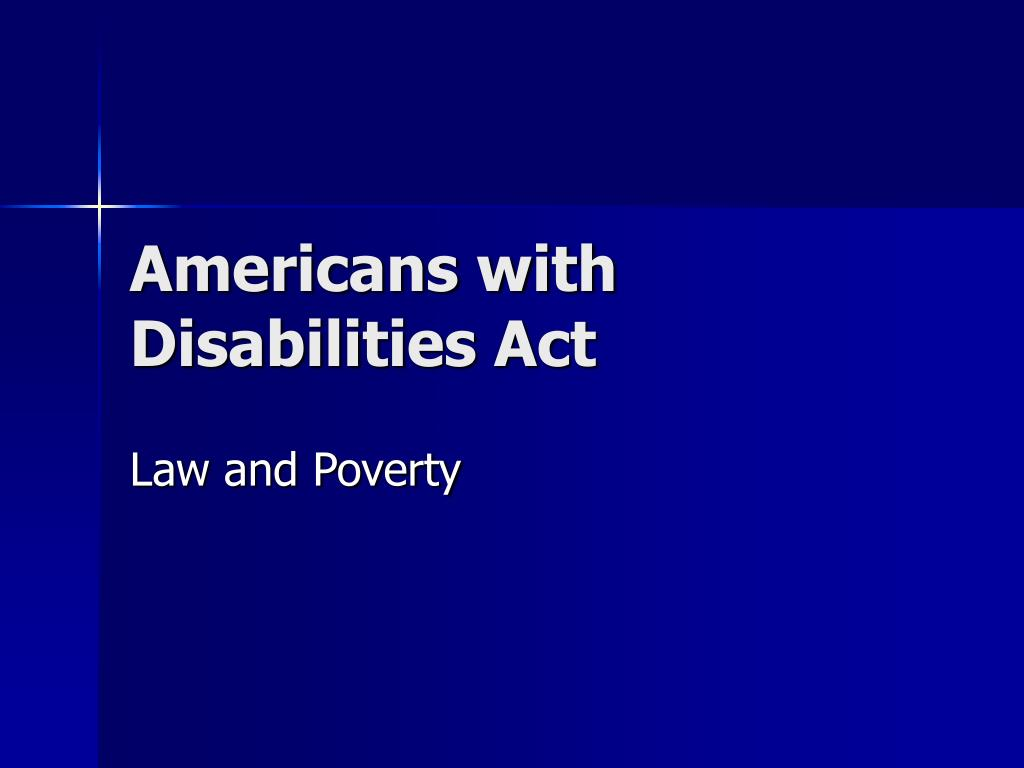 americans with disabilities act l.