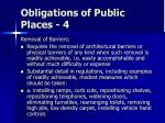 obligations of public places 4