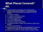 what places covered all