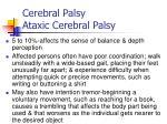 cerebral palsy ataxic cerebral palsy