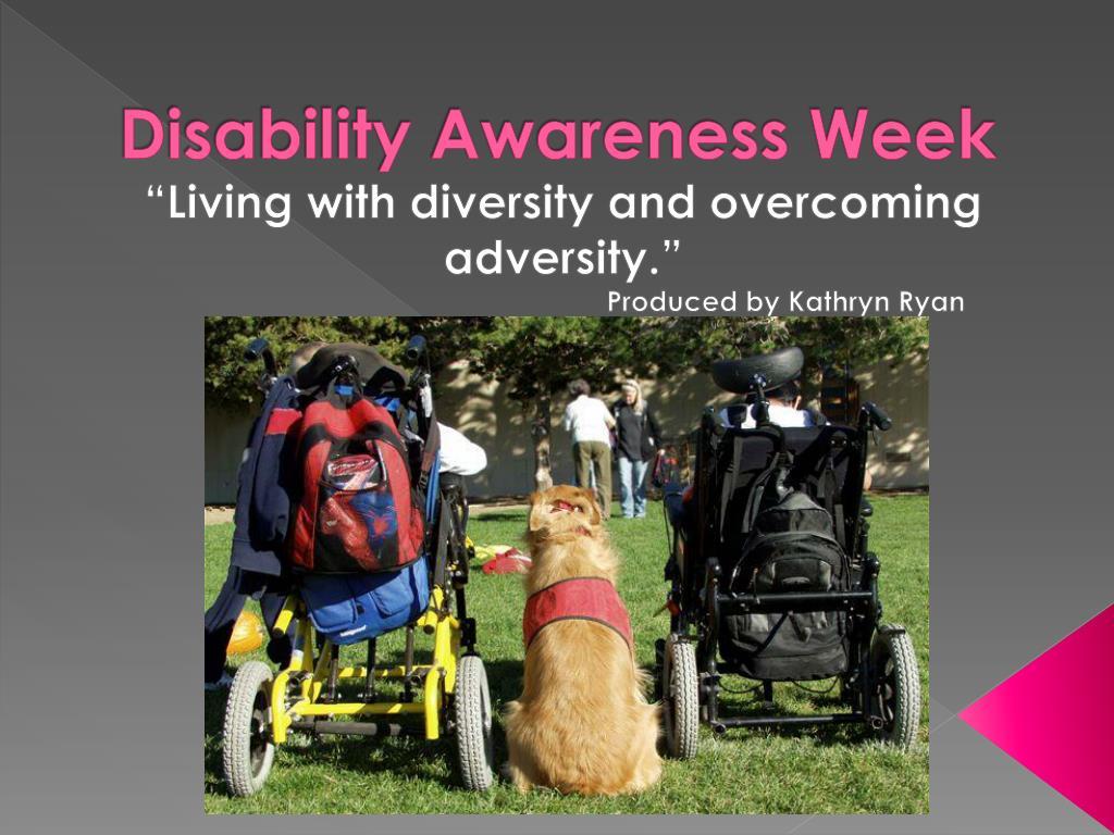 disability awareness week l.