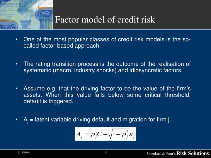 default correlation an empirical approach The relationship between average asset correlation and  jing zhang abstract asset correlation and default probability are critical  as they approach default.