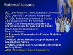 external liaisons