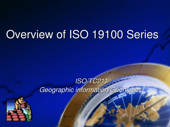 overview of iso 19100 series n.