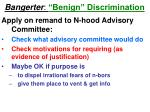 bangerter benign discrimination47