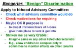 bangerter benign discrimination48