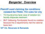 bangerter overview29
