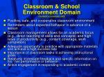 classroom school environment domain ysseldyke christenson 200242